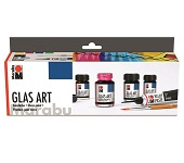 GlasArt-Farbenset 4x15 ml